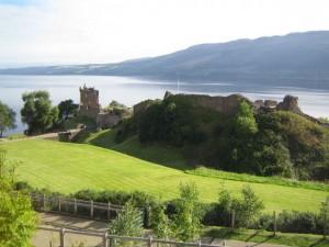 château dans les Highlands
