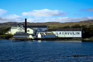 photo de la distillerie Lagavulin