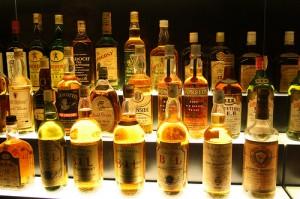 les différents whisky