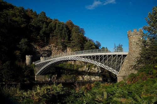 pont Craigellachie près du meilleur whisky écossais