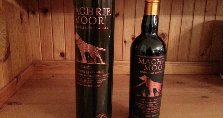 Machrie Moor 6th release : whisky d'Arran