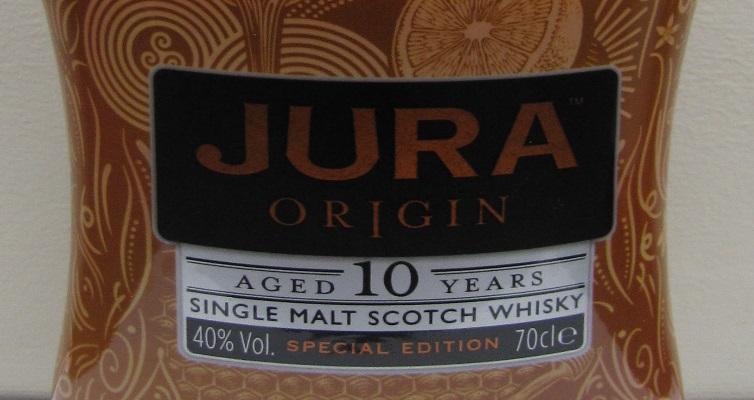Whisky Jura 10 ans Origin / Édition spéciale